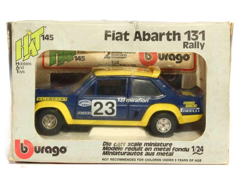 Fiat 131 Abarth Rally San Remo Bburago Italie 1 24