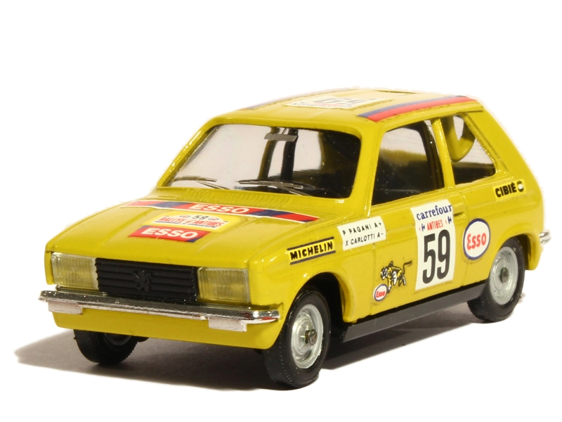 peugeot 104 zs rally antibes solido 1 43 autos miniatures tacot. Black Bedroom Furniture Sets. Home Design Ideas