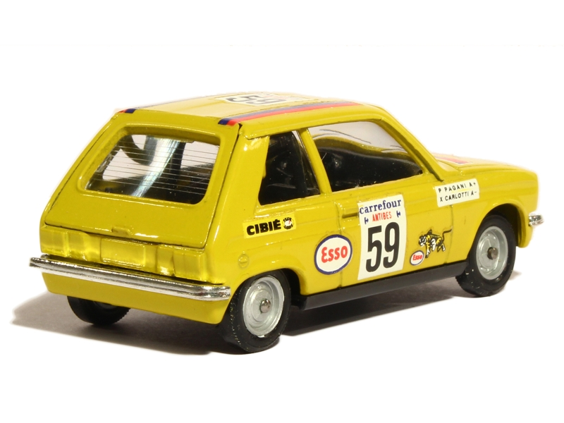peugeot 104 zs rally antibes solido 1 43 autos. Black Bedroom Furniture Sets. Home Design Ideas