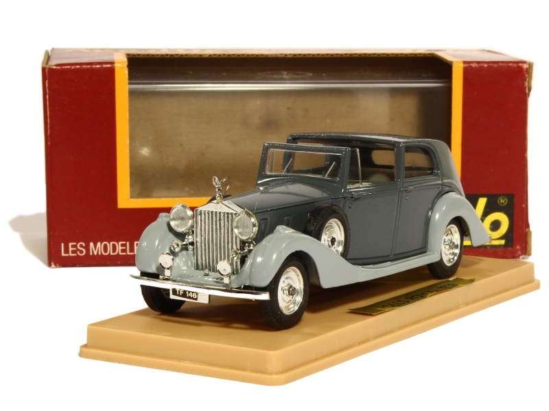 rolls royce phantom iii 1939 solido 1 43 autos miniatures tacot. Black Bedroom Furniture Sets. Home Design Ideas