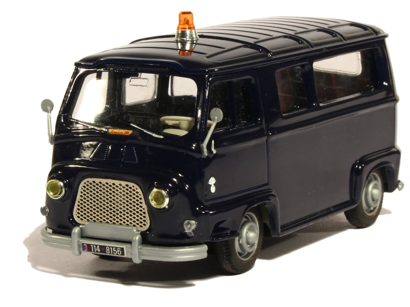 renault estafette vitr e gendarmerie norev 1 43 autos miniatures tacot. Black Bedroom Furniture Sets. Home Design Ideas