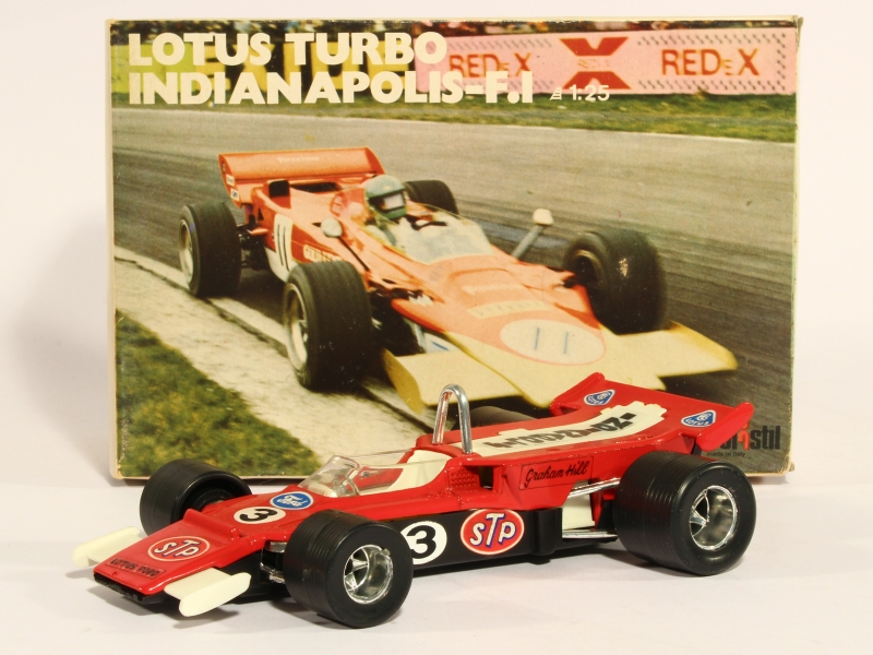 Coll 15743 Lotus Turbo Indianapolis F1