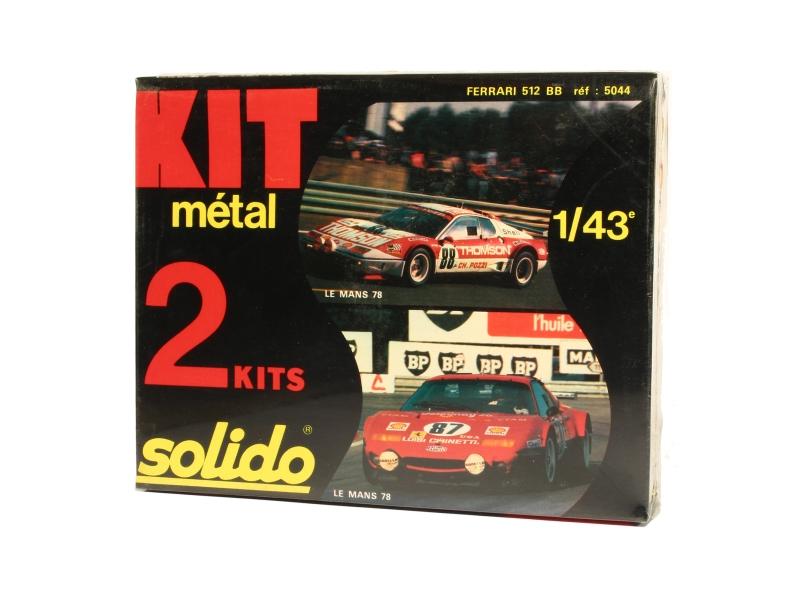 ferrari 512 bb le mans 1978 solido 1 43 autos miniatures tacot. Black Bedroom Furniture Sets. Home Design Ideas
