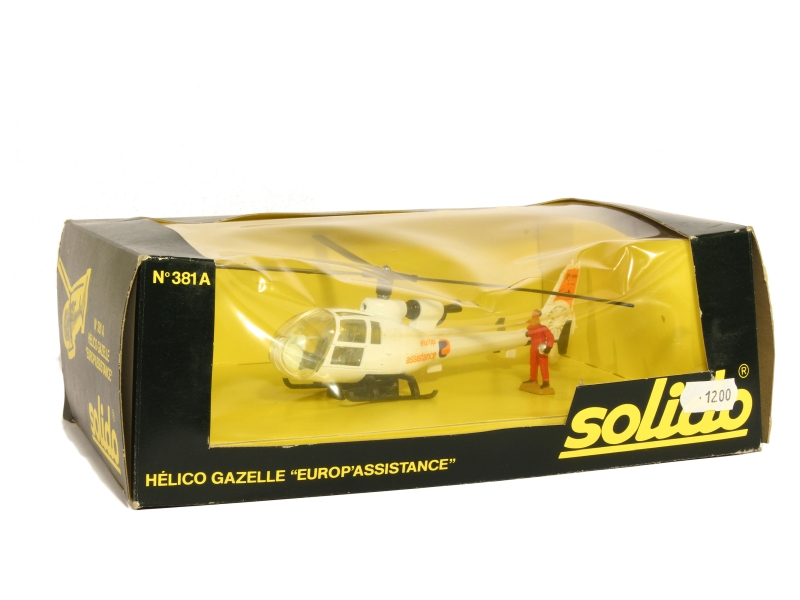 Coll 15856 Gazelle Helicoptère Europ Assistance
